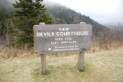Devil's Courthouse in North Carolina