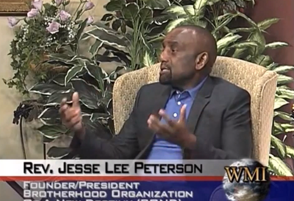 Jesse Lee Peterson: 'Obama is the Son of Satan'