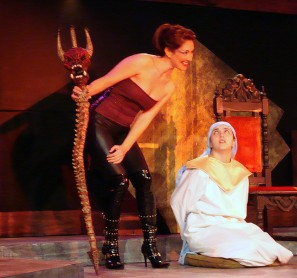 Satan in theatre