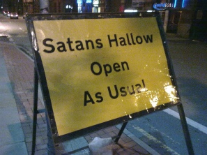 Business as Usual for Satan