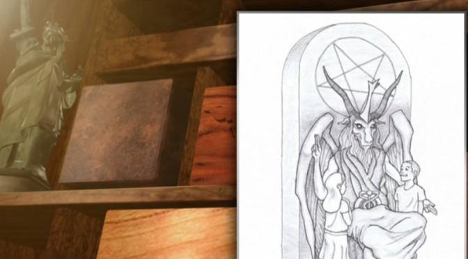 Satanists unveil design for OK statehouse statue